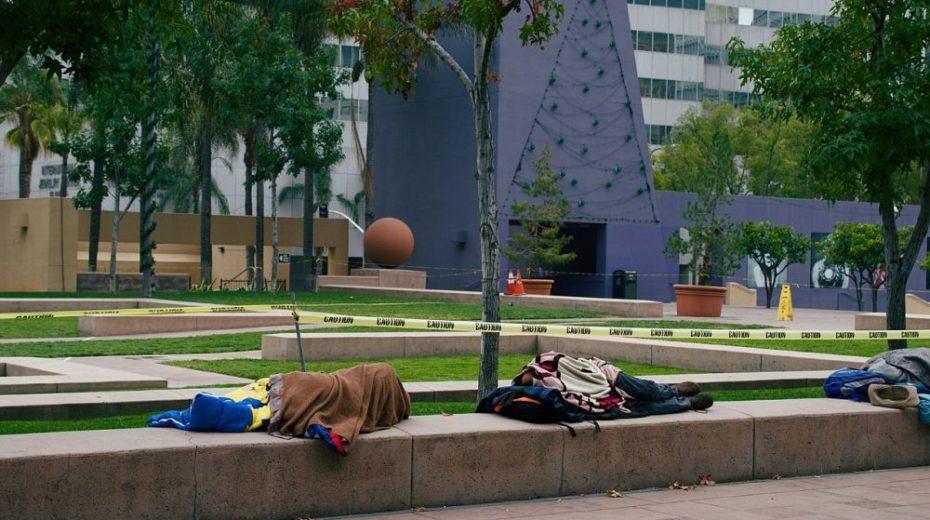 Californië heeft een groot daklozen probleem