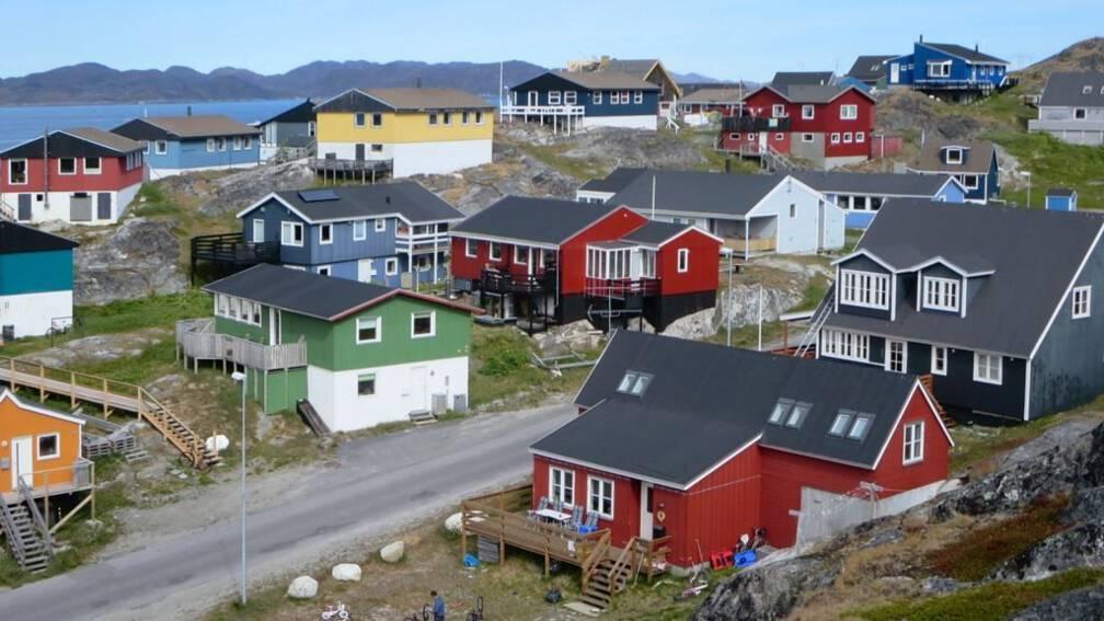 De kolonisten hebben hun ogen op Groenland gericht