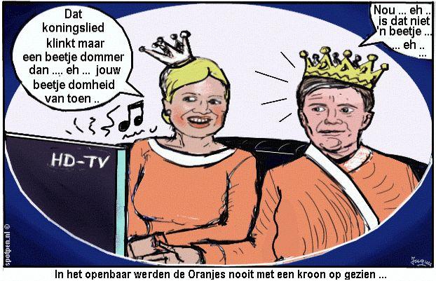 Onze koninklijke migrant koningin Máxima (343.000 euro) per jaar uitkering