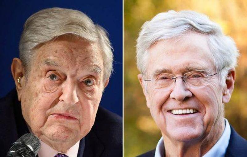 Koch en Soros verenigen zich om het internet te censureren
