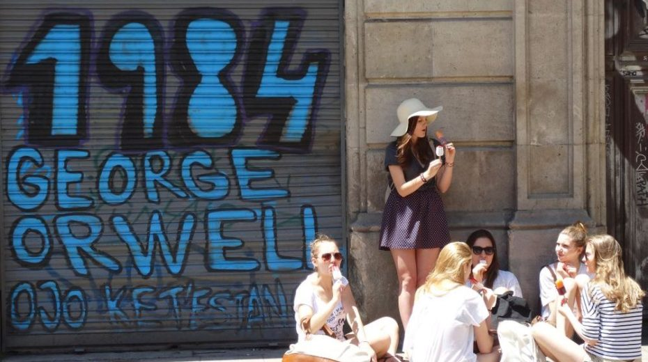 2084: Orwell terug in het Trump tijdperk