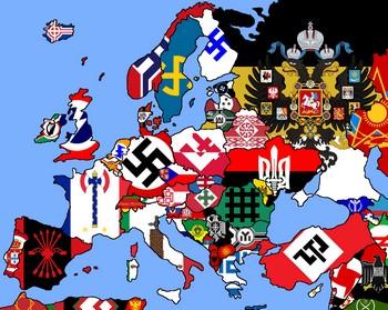 De komende afvoer van het Europese moeras