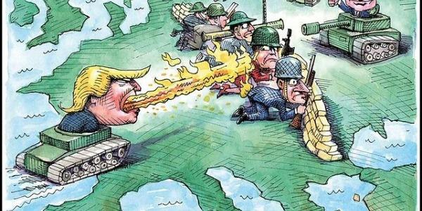 Het etablissement verandert zijn toon op Rusland