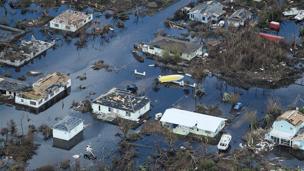 """""""Ondenkbaar"""" dodental voorspeld in Bahama's na orkaan Dorian"""