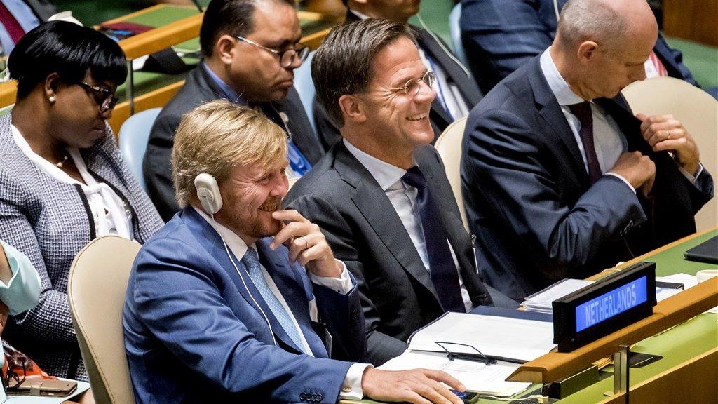 Koning Willem Alexander alweer 'een beetje dom', dit keer bij de VN over de klimaatverandering