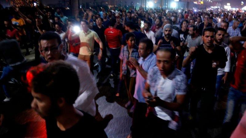 Egypte: honderden demonstranten eisen aftreden van staatshoofd al-Sisi