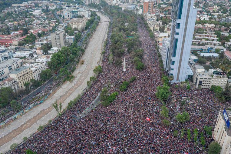 De neoliberale geest van Pinochet wordt eindelijk uit Chili verdreven