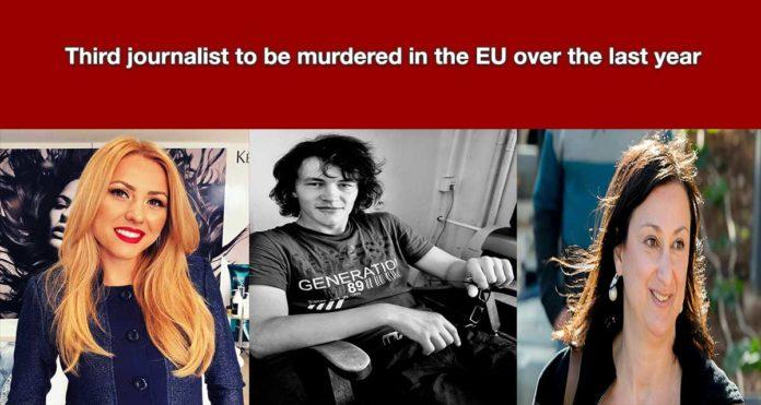 Derde journalist in een jaar vermoord tijdens onderzoek naar EU-corruptie.