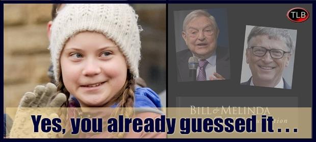 Greta Thunberg, een hulpmiddel van de superklasse van de wereld?