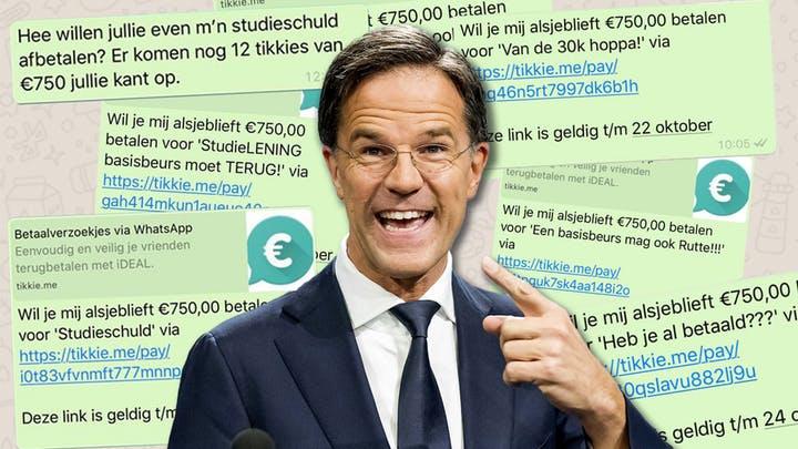 Beloftes kabinet Rutte: mooi weer-verhaal moet falen regering verhullen
