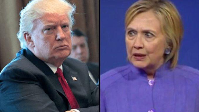 Trump richt Hillary's e-mails in een enorm uitgebreid onderzoek