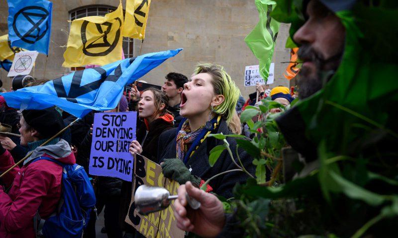 Arbeidersklasse rebelleert tegen Extinction Rebellion