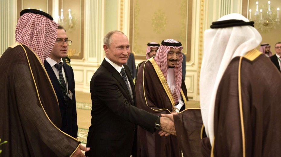 Poetin cruciale bemiddelaar voor vrede in het midden-oosten