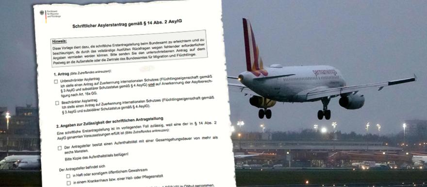 Marrakesh Immigratiepact in de praktijk: Veel vluchtelingen komen per vliegtuig naar Duitsland en Italië