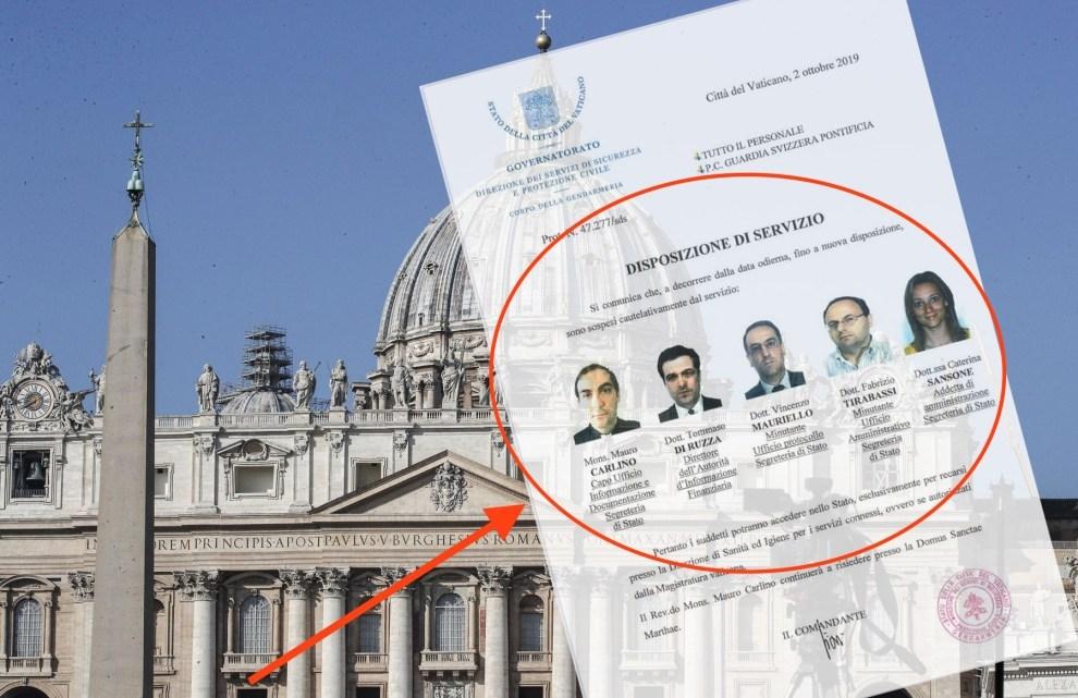 PAUS IN PANIEK POLITIE DOET INVAL VATICAAN BANK 5 TOPMANAGERS GEARRESTEERD