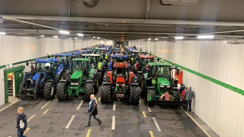 Woensdag weer #boerenprotest; Binnenhof verboden terrein