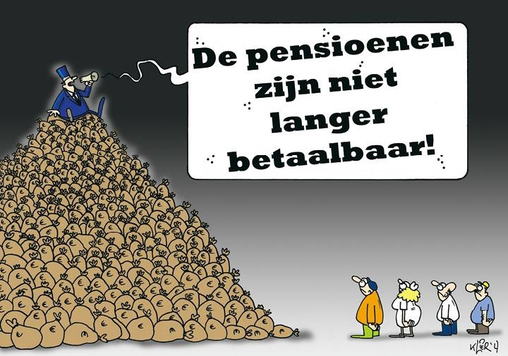 Pensioenbedrog en diefstal van ons pensioen blijf met je poten af van ons pensioen