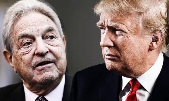 George Soros vuurt waarschuwingsschot op Trump: je bent je eigen graf aan het graven