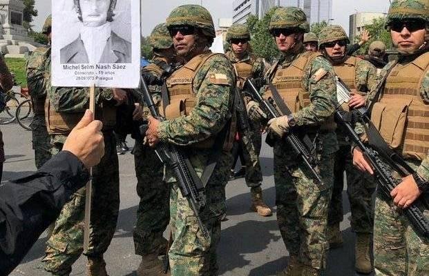 Mijnheer de president, het Chileense volk is niet de vijand maar het slachtoffer