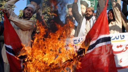 Dankzij de massale verplaatsing bij moslims keert de angst nu ook naar Zweedse omstandigheden in Noorwegen