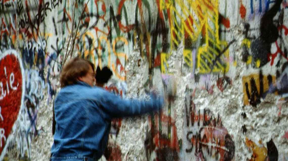 De val van de muur 3 november 1989