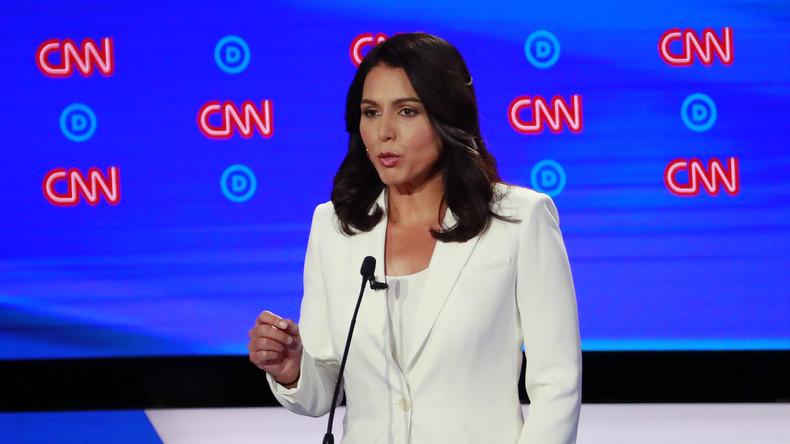 """""""Eis de waarheid!"""" Presidentiële kandidaat Gabbard vraagt om openbaarmaking van alle 9/11 bestanden"""