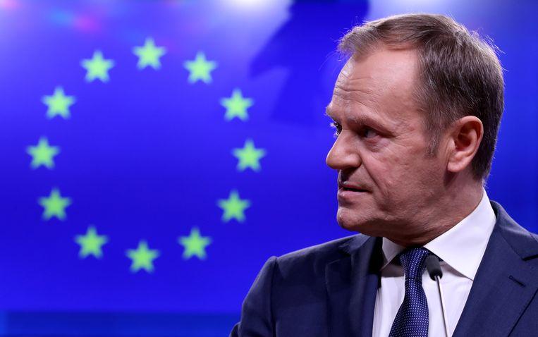 Tusk wil de Europeese Trump zijn