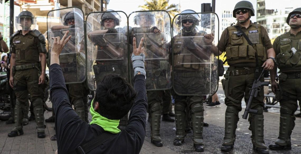 De oppositie in Chili smijt Pinera's terugkeer naar repressie