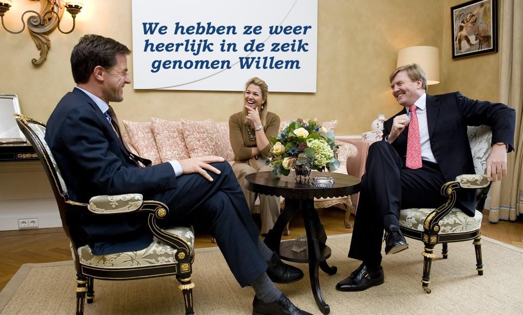 SCHIJNHEILIG DIE FOTO-SESSIE: Nederlandse koningshuis en Mark Rutte willen dat u dit niet leest