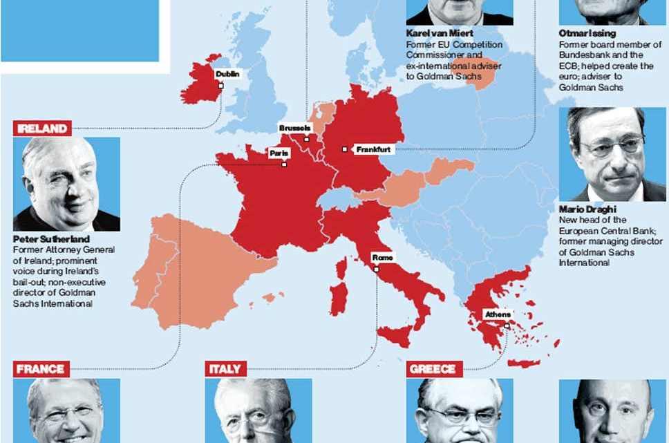 Welke prijs heeft de nieuwe democratie? Goldman Sachs komt Europa slopen