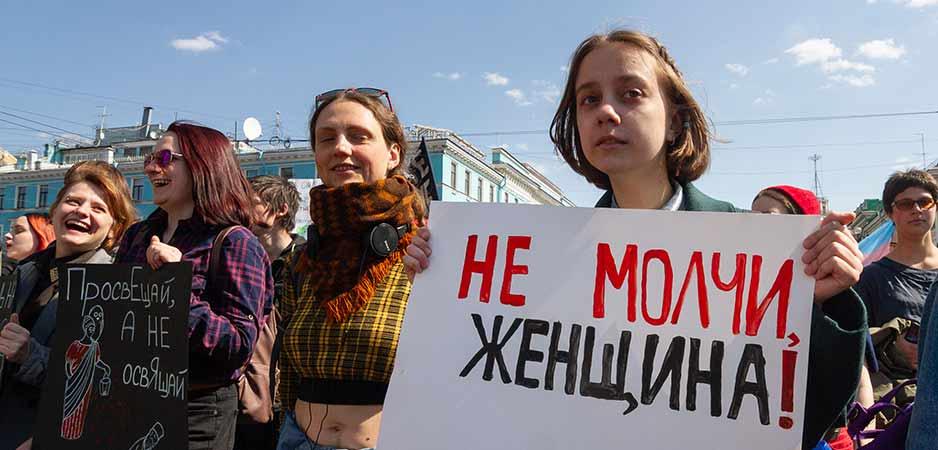 Is Rusland klaar voor zijn eigen #MeToo beweging?