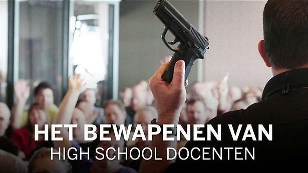 Het is een oorlogszone op de scholen in de VS