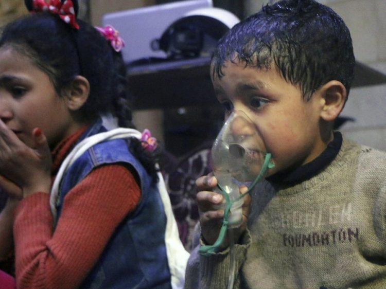 Douma lijkt steeds meer op een geënsceneerde chemische aanval door het Westen