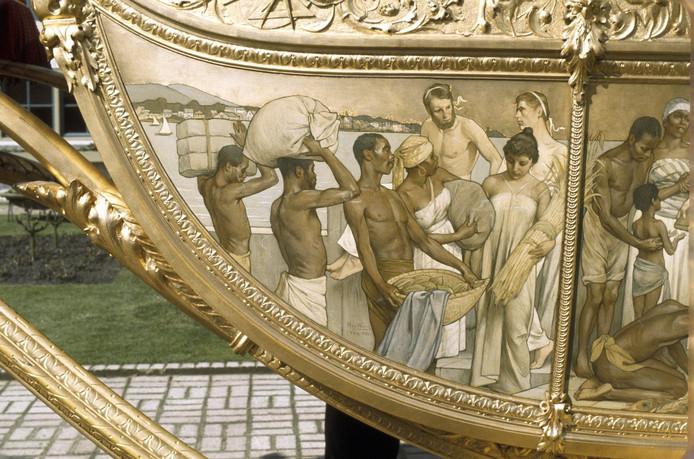 Racisme: laat de koning het voorbeeld geven en flikker die gouden koets in de gracht
