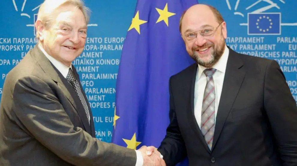 """De wereld samenzweerders zoals Soros in de """"woede"""" modus"""