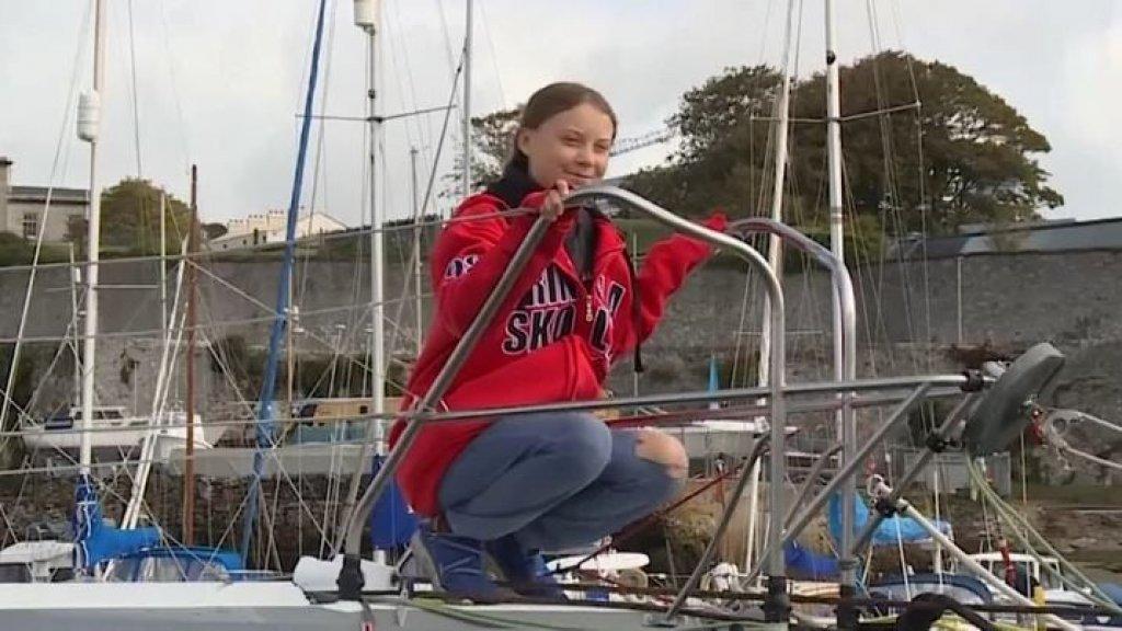 De belachelijk reis van Greta Thunberg op de catamaran naar Spanje