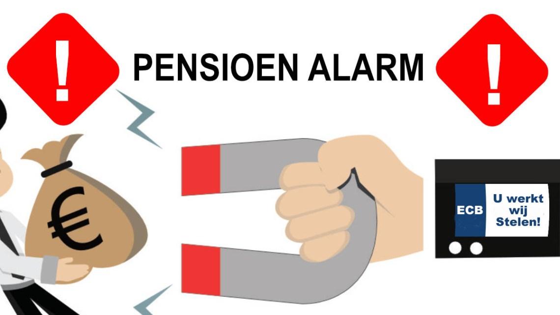 Pensioenroof door de ECB in de maak: Geld moet rollen zegt Lagarde