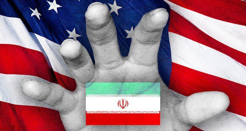 Protesten in Iran met de hand van Trump
