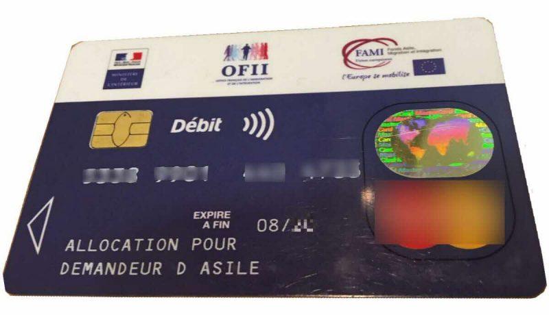 Frankrijk: migranten klagen dat door de staat uitgegeven betaalpassen geen cashgeldopnames toestaan