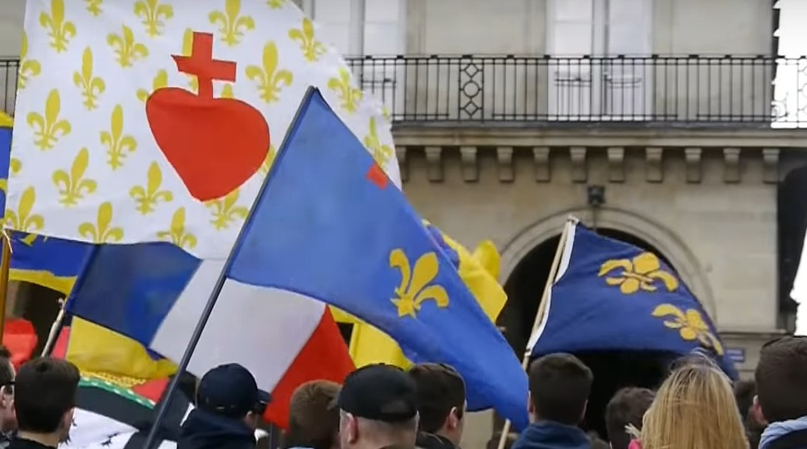Le Mans: royalistische militanten en botsing met Antifa, vijf arrestaties