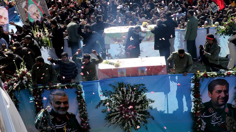 Iran: tientallen sterven massaal in paniek tijdens de begrafenis van generaal Soleimani