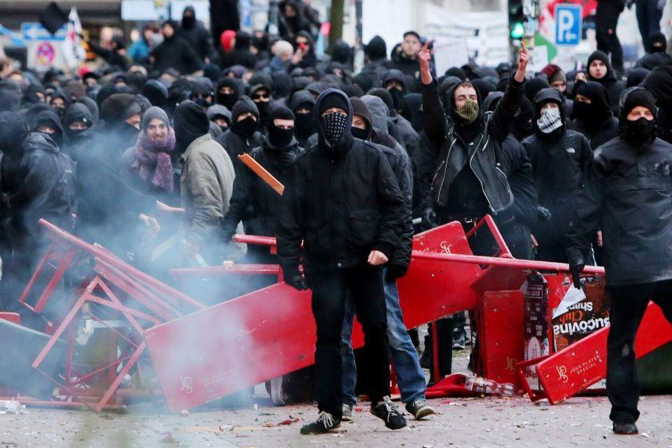 Links terrorisme wordt niet bestreden