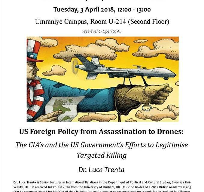 """""""Buitenlands beleid door moord"""" in de Verenigde Staten, wie is de volgende?"""
