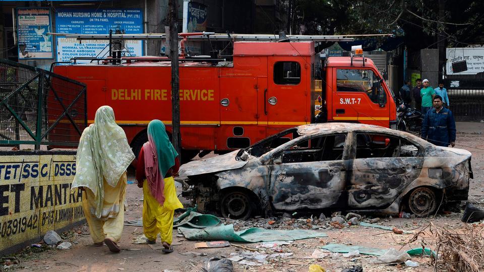 Meer dan tientallen doden in het ergste religieuze geweld in New Delhi in decennia