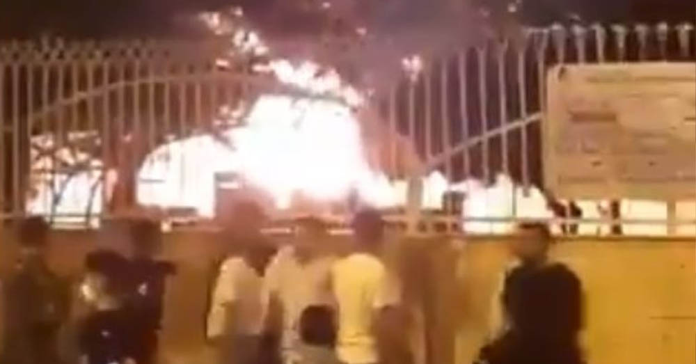 Iran: ziekenhuis in brand gestoken uit vrees voor coronavirus
