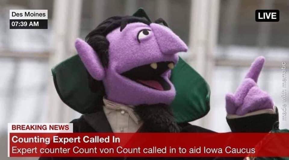 Het debacle in Iowa is een perfect voorbeeld van de extreme onbekwaamheid die Amerika teistert