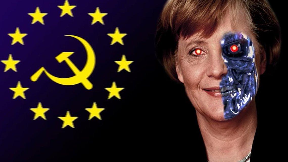 Bloed gerelateerd: wil tot burgeroorlog en racisme in het land van moeder Merkel