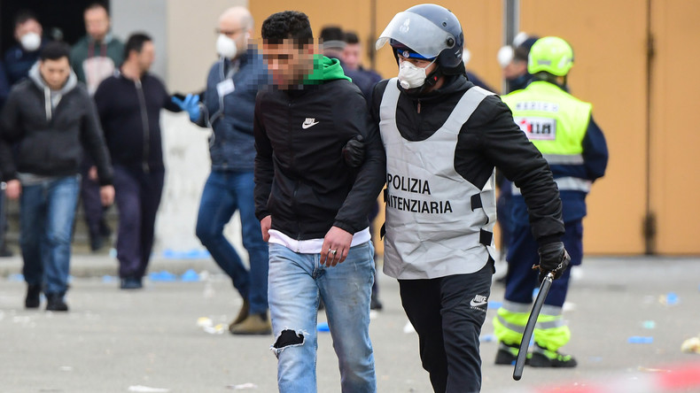 Coronapaniek in Italiaanse gevangenissen – Verschillende doden in rellen