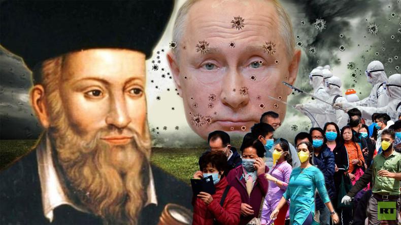 """""""Nostradamus voorspelde Corona-virus …"""": nieuws van de EU-propagandaworkshop"""