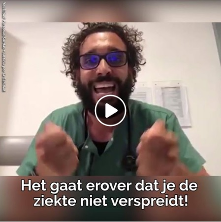 DEEL DIT BERICHT – Noodoproep dringende aanpak Corona-crisis hard maar de waarheid
